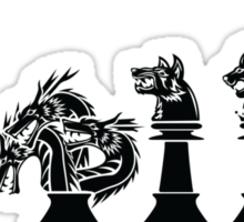 Chess of Thrones Sticker