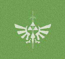 Triforce Minimalist Green by isabelgomez