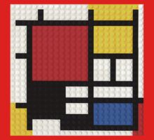 If Mondrian Had Lego by Addison