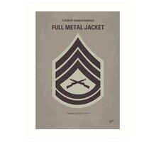 No030 My Full Metal Jacket minimal movie poster Art Print