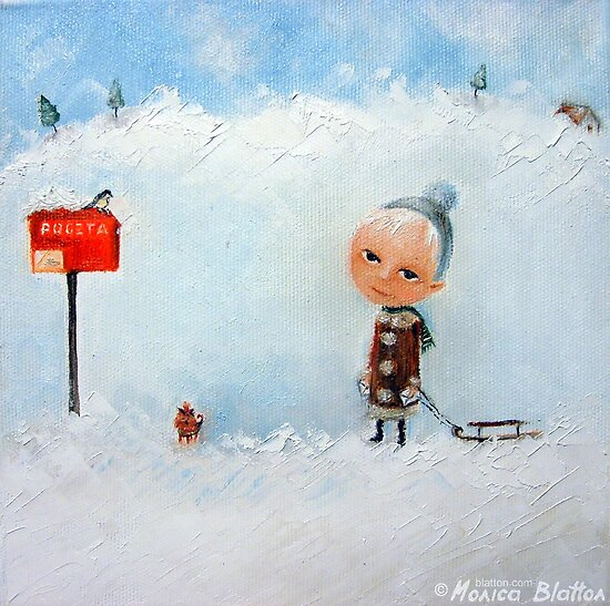 Letters To Santa by Monica Blatton