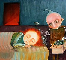 Bad Dreams Catcher by Monica Blatton