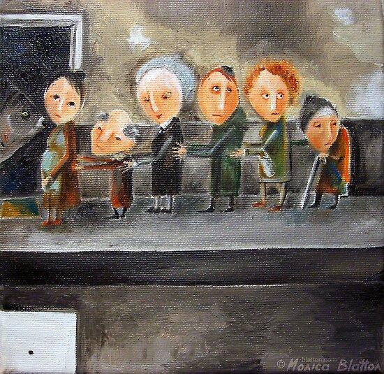 For Carp Line by Monica Blatton