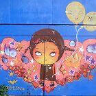 World street graffiti - garage door by grafhunter