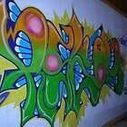 World street graffiti - random by grafhunter