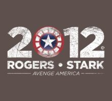 Vote Rogers & Stark 2012 (White Vintage) Kids Clothes