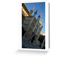 guildhall london Greeting Card