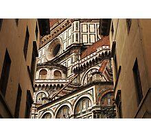 Florence The Duomo Fasade Photographic Print
