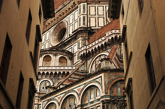 Florence The Duomo Fasade by Bob Christopher