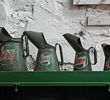 Oil Cans by LydiaBlonde