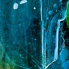 Cosmic Winter - Ice Abstract by Annie Lemay  Photography