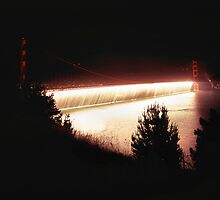 Golden Gate Bridge From Battery Wagner by Rodney Johnson