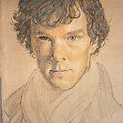 benedict cumberbatch as sherlock by Peter Brandt