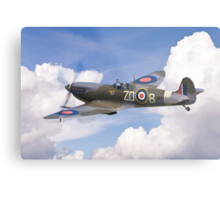 Spitfire Pass Metal Print