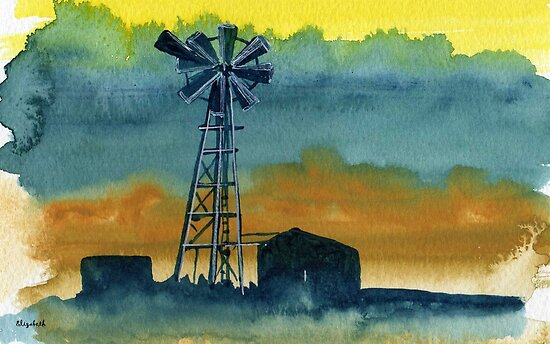 Windpomp by Elizabeth Kendall