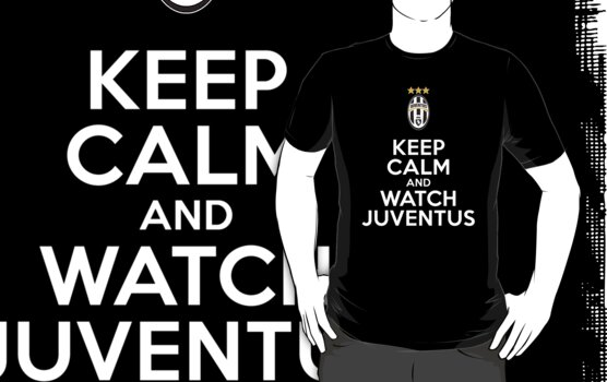 Keep Calm and Watch Juventus by FC Designs