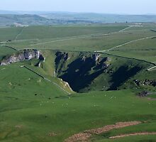 Winnats Pass from Mam Tor 2 by Paul  Green