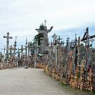 Hill of crosses by Arie Koene