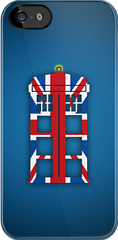 Union Flag TARDIS by saniday