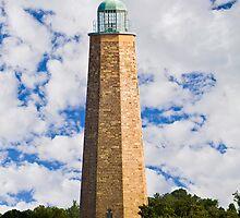 Old Cape Henry Light, Virginia Beach, Virginia by Kenneth Keifer