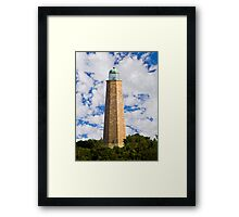 Old Cape Henry Light, Virginia Beach, Virginia Framed Print