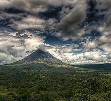 Arenal Volcano by Sylvain Dumas