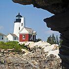Pemaquid Point Lighthouse, Bristol, Maine by Kenneth Keifer
