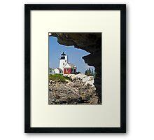Pemaquid Point Lighthouse, Bristol, Maine Framed Print