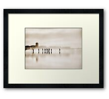 the long walk home Framed Print