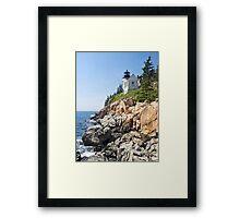 Bass Harbor Head Light, Acadia National Park, Maine Framed Print