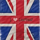 I Love London by shalisa