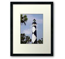 Cape Lookout Lighthouse, North Carolina Framed Print