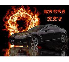 Mazda RX 8 Photographic Print