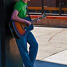Busker--He Was Playin' Real Good For Free by Bryan D. Spellman