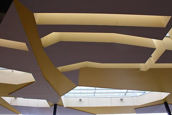 Crazy ceiling. by Jeanette Varcoe.