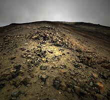 Climbing Mt Doom by Michael Treloar
