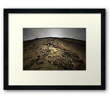Climbing Mt Doom Framed Print