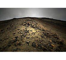 Climbing Mt Doom Photographic Print