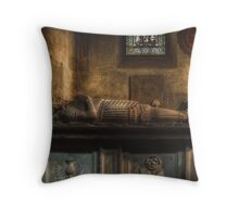 """""""The remains of a mercenary"""" Throw Pillow"""