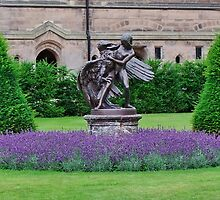 Eaton Hall Statue by AnnDixon