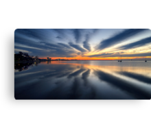 New Dawn - Geelong Corio Bay Canvas Print