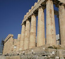 Parthenon from the outside by Pasho