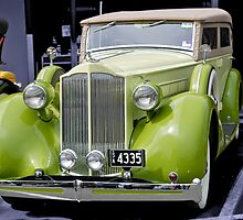 1935 Packard Touring Convertible by Dean Wiles