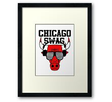 Chicago swag-  Framed Print