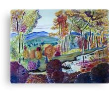 October Sunday Canvas Print