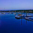 Just Before Sunrise - Southwest Harbor, Maine by Lightengr