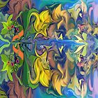 Secret Garden- Abstract by haya1812