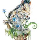 Squirrel by Brandon Keehner