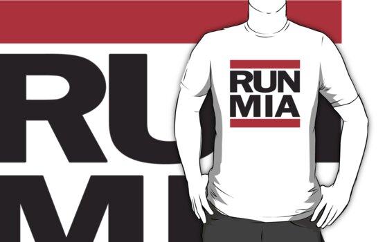 Run MIA T Shirt by 785Tees