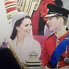 Duke and Duchess of Cambridge 2011 by Samantha Norbury